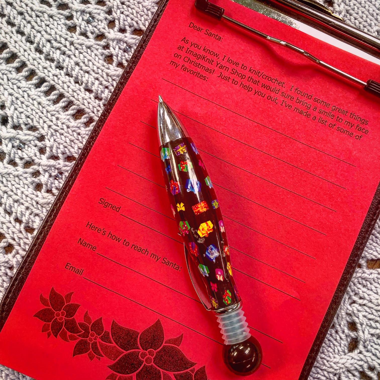 ImagiKnit Yarn Shop Omaha Wish List