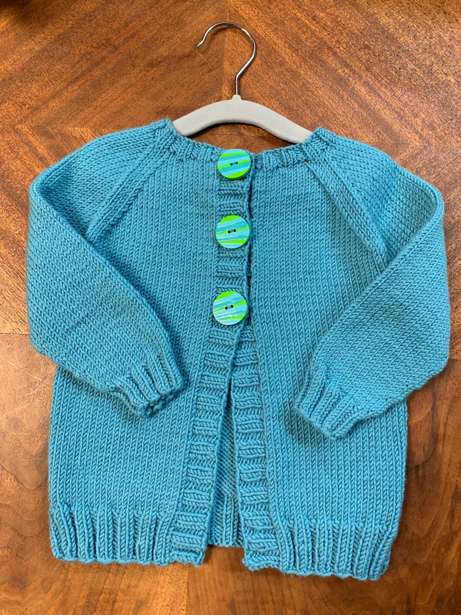 ImagiKnit Yarn Shop Omaha Baby Sweater Class