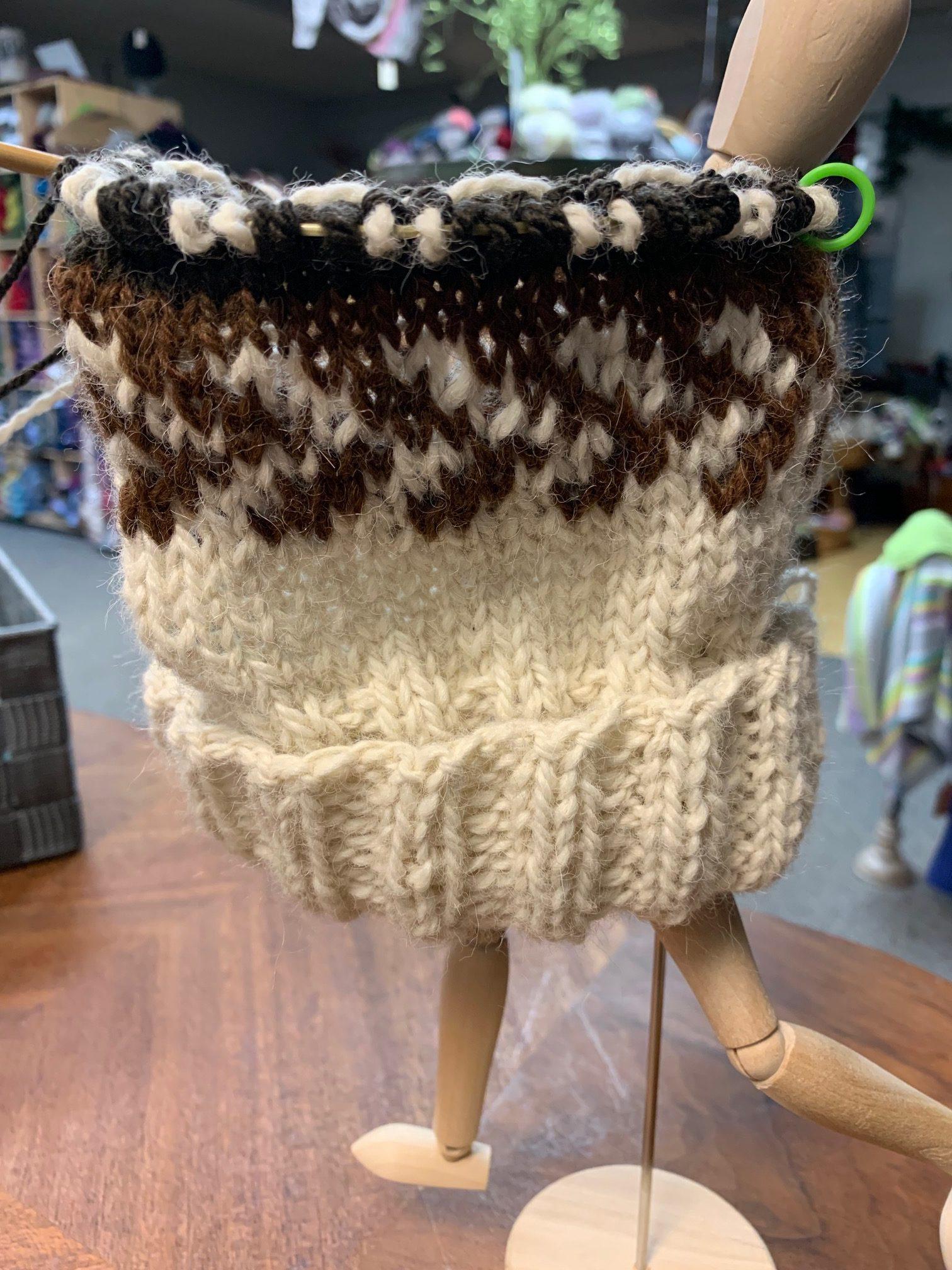 ImagiKnit Yarn Shop Omaha Fair Isle class