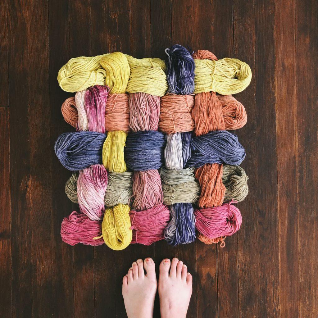 Garden Wool and Dye