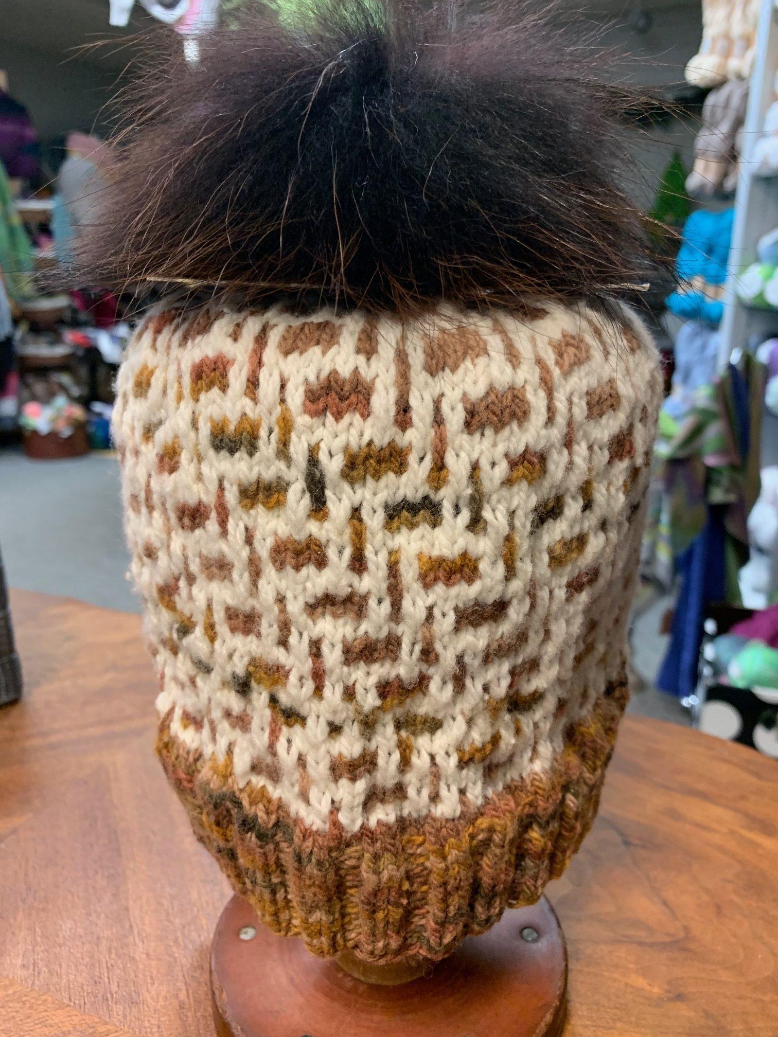 mosaic knitting class ImagiKnit Yarn Shop Omaha