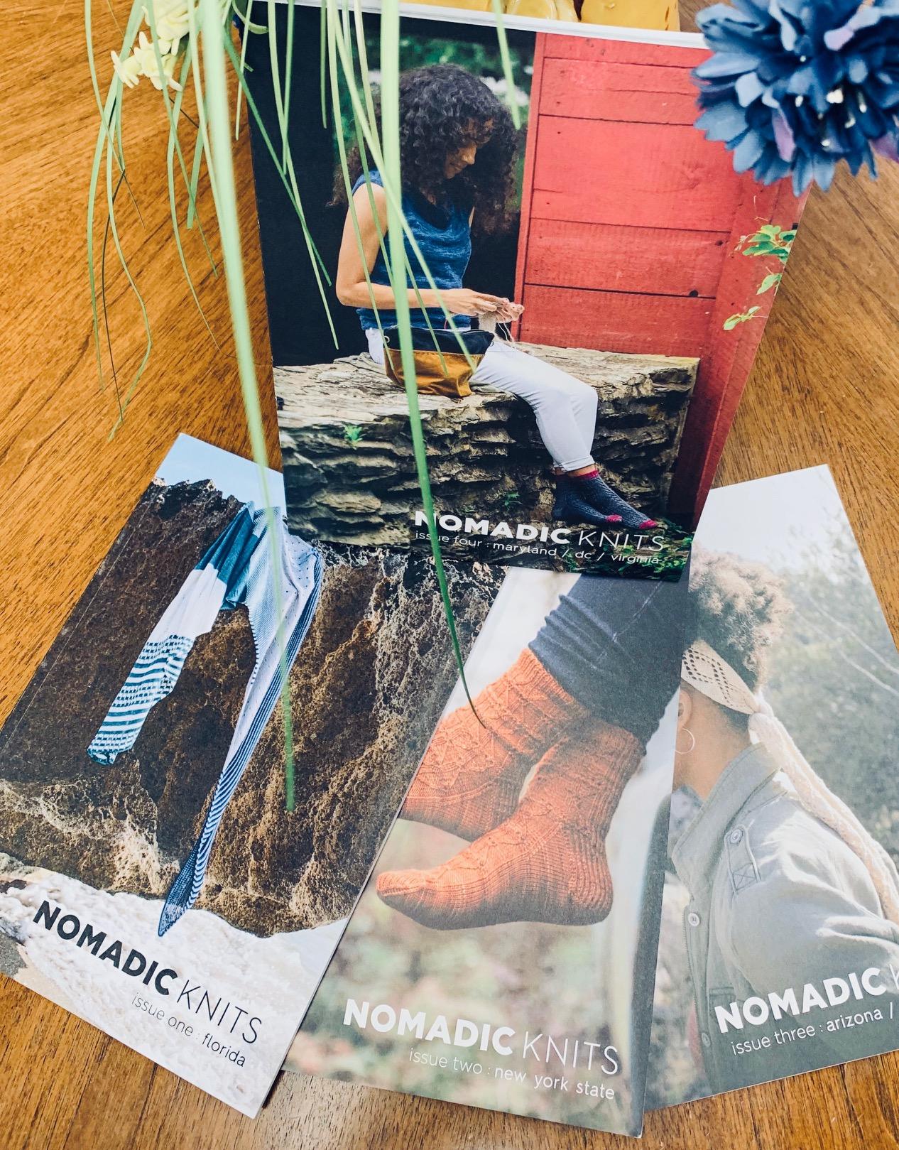 ImagiKnit Yarn Shop Nomadic Knits