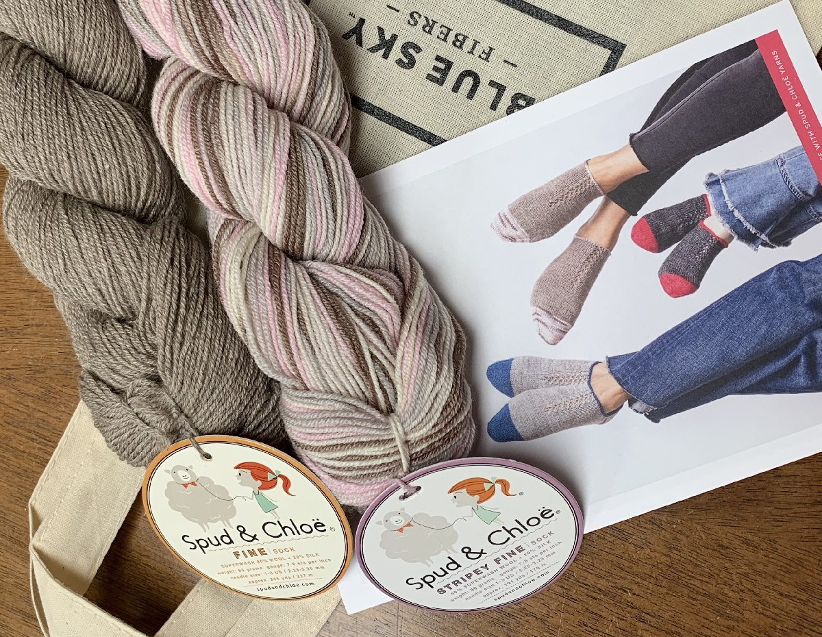 Footies Knit Along ImagiKnit Yarn Shop Omaha