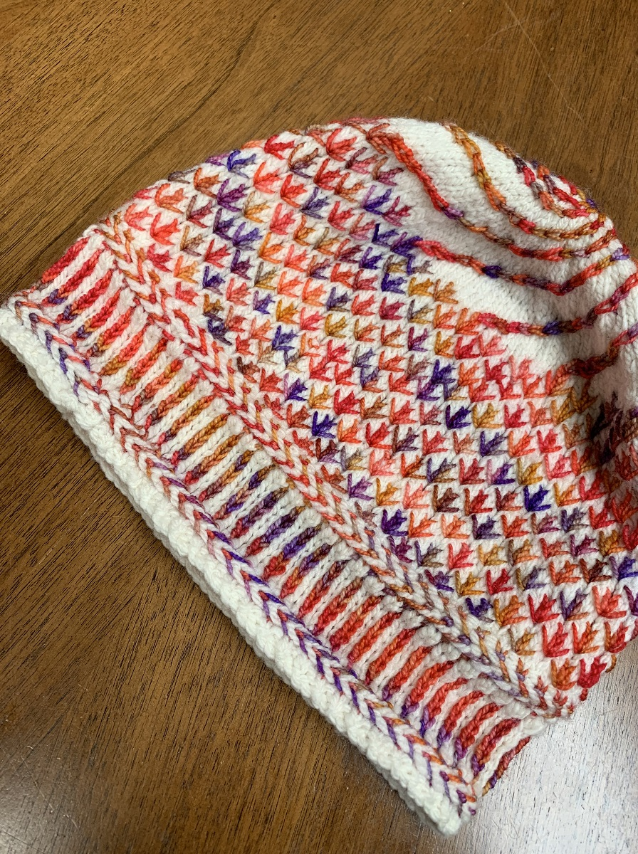 Latvian Braid knitting class
